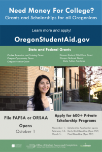 OSAC INFORMATION POSTER
