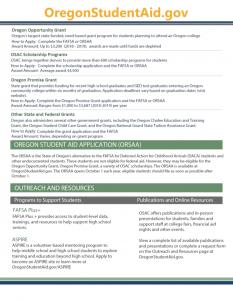OSAC UPDATE FALL 2018 PAGE 2