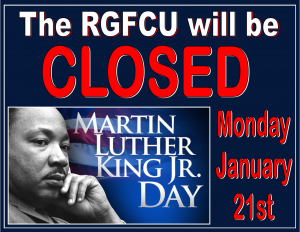MLK closed sign